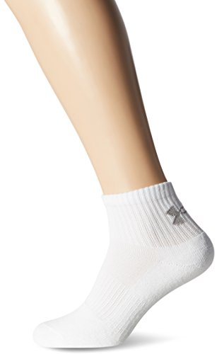 Under Armour Charged Cotton 2.0 Quarter Socks - White XL