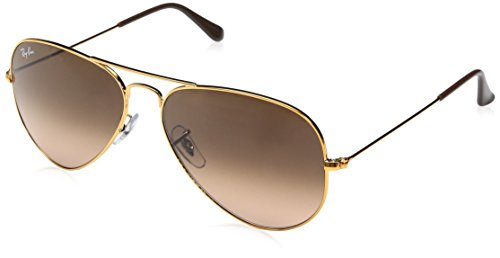 Ray-Ban Aviator Classic, Shiny Light Bronze, 58 mm
