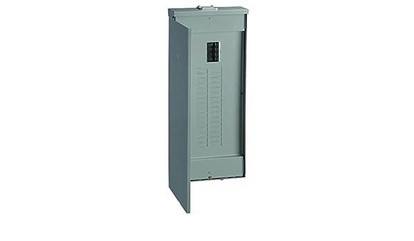 GE PowerMark Main Circuit Breaker Panel Gold 200 Amp Outdoor 20 Space 40 Circuit