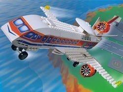 Lego Jack Stone A.I.R. Patrol Jet Airplane 4619