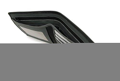 Ashwood Black Gift Grey Leather amp; Fold Wallet Box Classic qrqnZHU