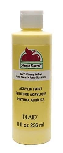 - Apple Barrel Acrylic Paint in Assorted Colors (8 oz), K20711 Canary Yellow