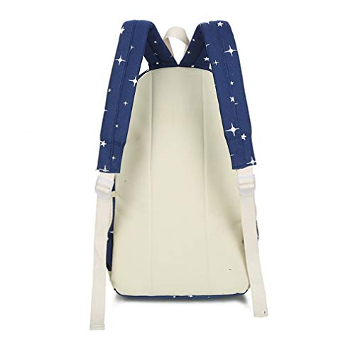 W12cm Cute School Girl Canvas Women Bags Backpacks Green L25cm Black 3Pcs Sets Bear H43cm xHAq1