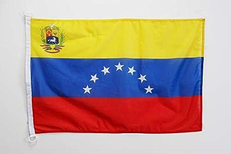 AZ FLAG Bandera de Venezuela Antigua con Escudo 90x60cm Uso ...