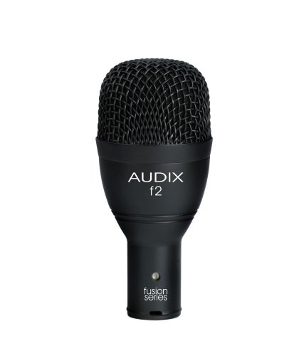 Audix F2 Instrument Dynamic Microphone, Hyper-Cardioid