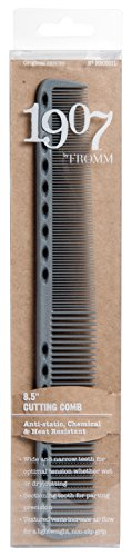 1907™ (Original Series) Cutting Comb - NBC001L, Antistatic, chemical resistant, heat resistant, lightweight, non slip grip, textured vents, sectioning, wide teeth, narrow teeth, precision, wet hair, dry hair, optimal tension