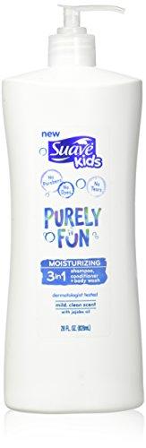 Suave Kids 3 In 1 Shampoo + Conditioner+ Body Wash Purely Fu
