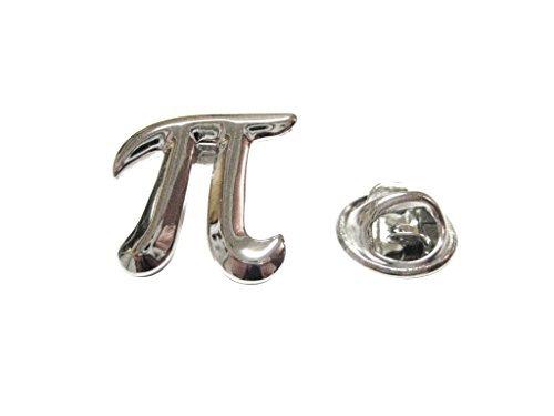 Kiola Designs Mathematical Pi Symbol Lapel Pin