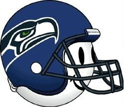 Seattle Seahawks Helmet Antenna Topper
