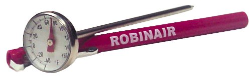 Robinair (10596) Dial Thermometer, -40° to +160°F
