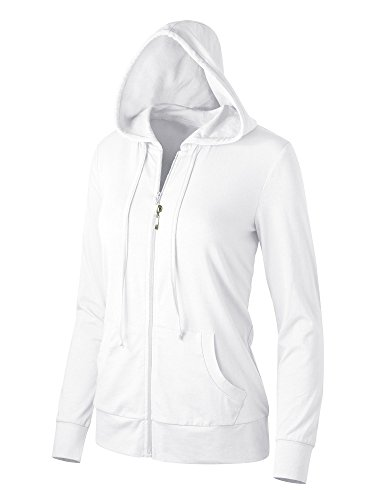 Womens Cotton Blended Weight Hoodie