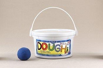 Hygloss 3 Pound Tub Dazzlin Dough - Blue by Hygloss