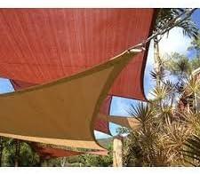 San Diego Sail Shades 12'x12'x17' Right Triangle Sandy Beach