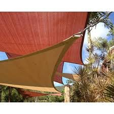 San Diego Shade Sail 18 Triangle – Sandy Beach