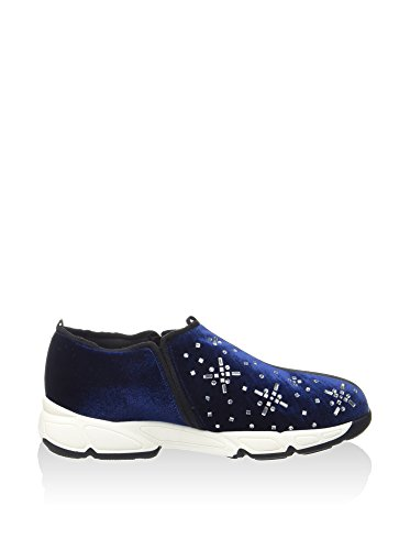 Guess Lety femmes, velours, sneaker slip on