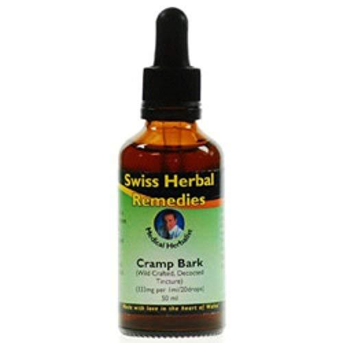 Herbal Remedies Swiss (Swiss Herbal Remedies Cramp Bark Tincture, 50ml)