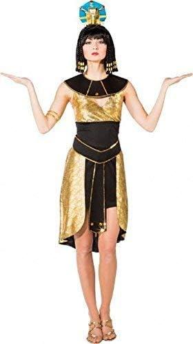Cleopatra Con Perline Copricapo-Costume Accessorio Da Donna in Oro Egiziano Faraone