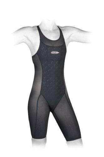 Finis Women's Hydrospeed 2 Race John Swimsuit (Black, 28)