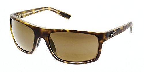 Maui Jim Unisex Byron Bay Matte Tortoise/Hcl Bronze Sunglasses