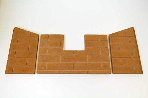 Lennox OEM Brick Panel Set for Earth Stove TP300 (H1806) - Original OEM ()