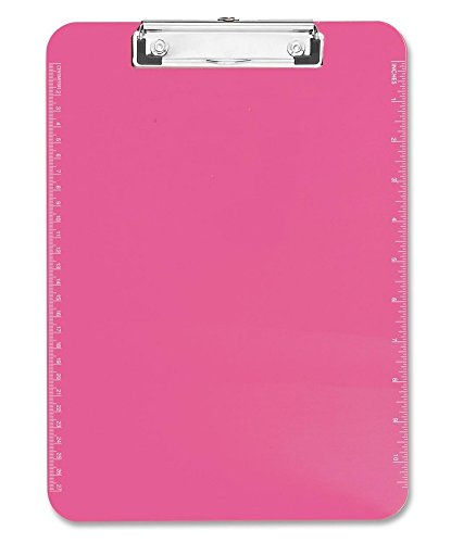 Sparco Transparent Plastic Clipboard 9X12x7