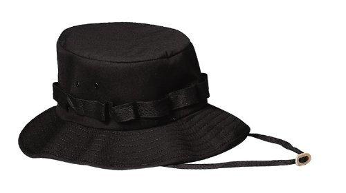 Jungle Hat Rothco (Rothco Jungle Hat, Black, Small)