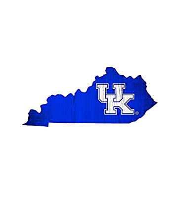 Fan Creations University of Kentucky Team Color Logo State Sign, Multi