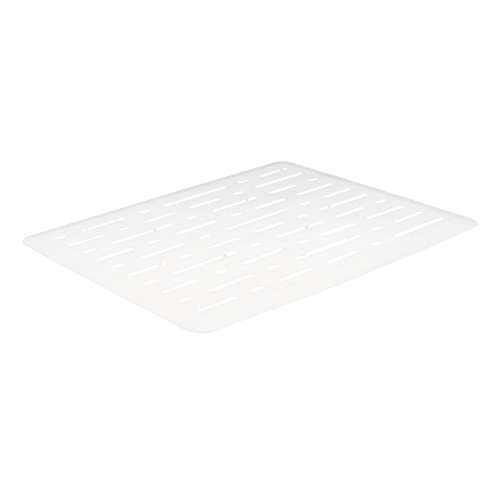 Rubbermaid Evolution Sink Mat, Small, White (2-Pack)