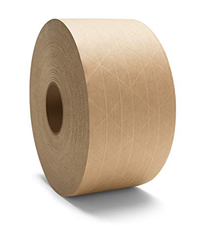 Brown Economy Grade Water Activated Gummed Tape 3