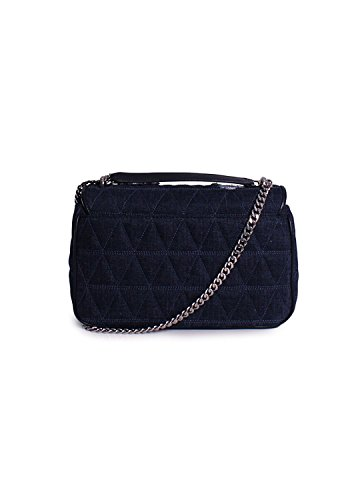 fea0fdd5920b Michael Kors Sloan Large Chain Shoulder Bag in Indigo - Buy Online ...