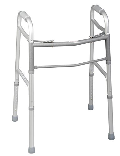 Medline Two-Button Folding Walkers witho - 2 Button Walker Shopping Results