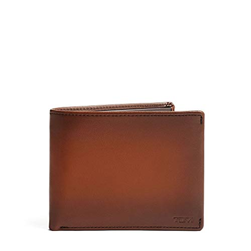TUMI - Nassau Global Double Billfold Wallet with RFID ID Lock for Men - Whiskey Burnished ()
