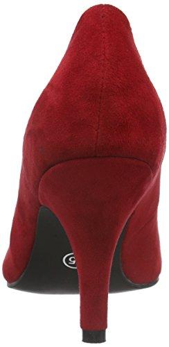 Andrea Conti 3009218 - zapatos de tacón cerrados de cuero mujer Rojo - Rot (021)