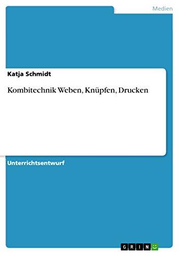 Frau Schmidt Costumes - Kombitechnik Weben, Knüpfen, Drucken (German