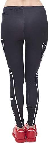 MAOYYMYJK Blanco Egipcio Gato Negro Imprimir Mujeres Leggings Fitness Transpiración Transpirable Secado rápido Leggins Pantalones de pantalón de Alta Elasticidad: Amazon.es: Deportes y aire libre