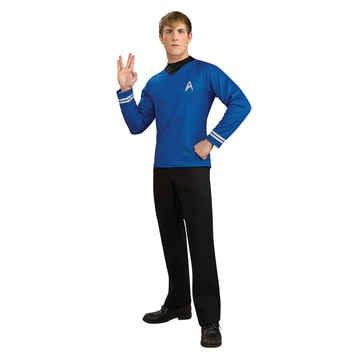 Star Trek Movie Blue Shirt Costume - Adult Costume deluxe - Medium