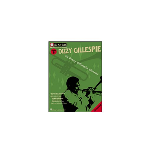 Dizzy Gillespie, Play-Along Book w/Bonus Dizzy Gillespie Paramount Series Bugle Care & Cleaning Kit Deluxe w/Meisel COM-80 Clip-On Tuner