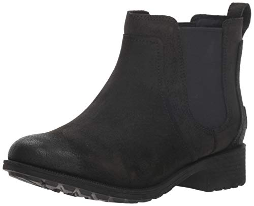 UGG Women's W Bonham Boot II Fashion, Black, 7 M US (Ugg Boots Clog)