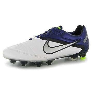 finest selection a2902 ad696 Nike CTR360 Maestri II FG Mens Football Boots White Purple 9 UK UK   Amazon.co.uk  Sports   Outdoors