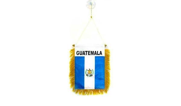 "Wholesale lot 3 Panama Mini Flag 4/""x6/"" Window Banner w// suction cup"