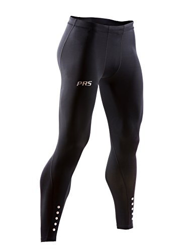 PRS Men's Perform+ Compression Tights for Running, Crossfit, HIIT, Yoga, Gym (Small)