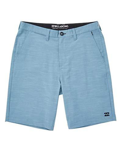 Billabong Men's Crossfire X Slub Submersibles Shorts Blue 28 ()