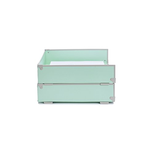 Frisco Collection (Design Ideas Frisco Desk Collection (Mint, Letter Tray))