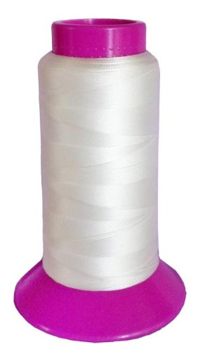 SolarActive Color Changing Embroidery Thread 1100 yard Cone – White to Magenta