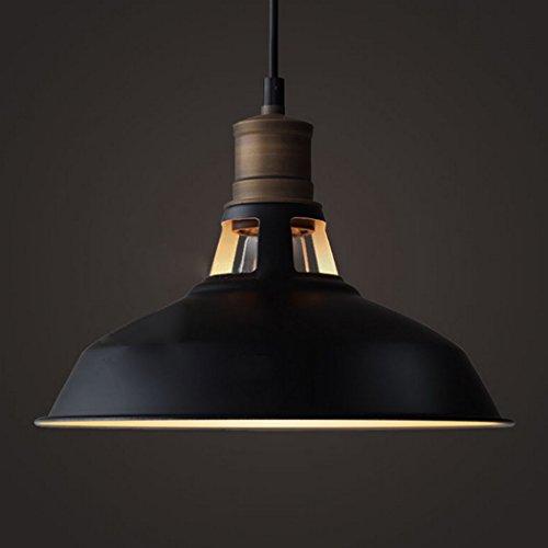 CLAXY Ecopower Industrial Barn Mini Metal Pendant Light 1 Light - Kitchen Pendant Light