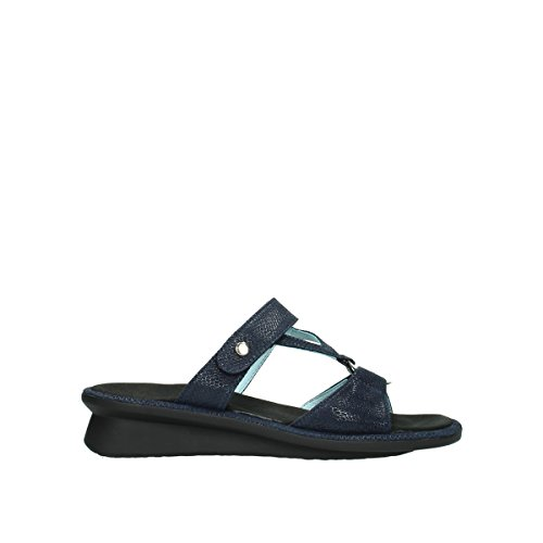 Wolky Comfort ISA 20800 blau Leder