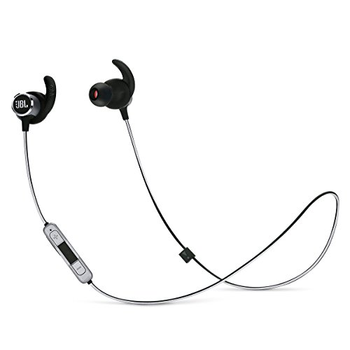 JBL Reflect Mini 2 Wireless in-Ear Sport Headphones with Three-Button Remote and Microphone - Black (Jbl Headphones Wireless)