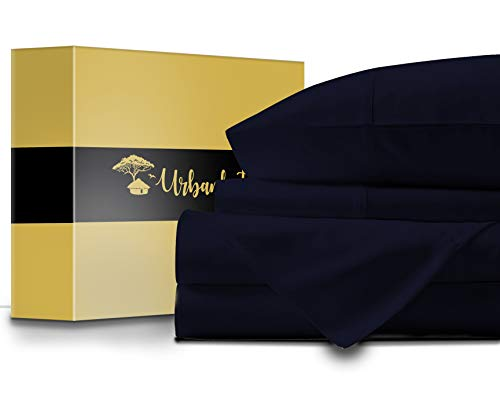 URBANHUT Egyptian Cotton Sheets Set - 1000 Thread Count 100%...