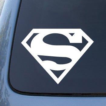 Superman large super man vinyl car decal sticker 1835 vinyl color
