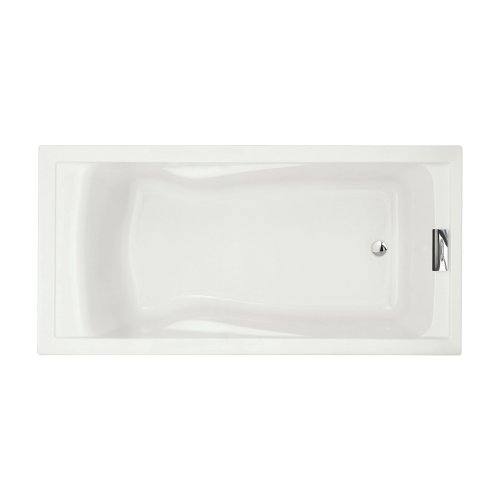Undermount Soaking Tub - American Standard 7236V002.020 Evolution Bathtub with Form Fitted Back Rest, White
